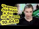 Екатерина Шульман - Черных лебедей я бы не ждала... 10.04.18