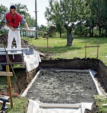 Как построить садовую сауну