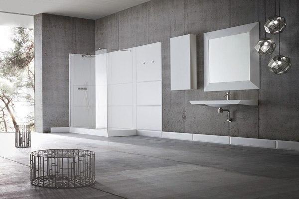 Интересный и необычный дизайн ванной комнаты