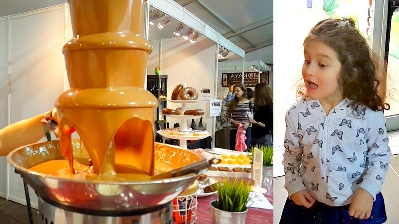 Самый вкусный в мире Бельгийский ШОКОЛАД! Каскад из шоколада! ШОКОЛАД со вкусом КОКА-КОЛЫ и БАНАНА!