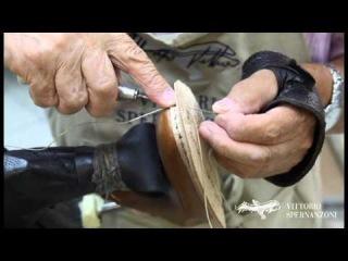 Vittorio Spernanzoni - Bentivegna construction italian shoes handmade