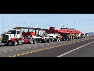 186 # Alex-Дальнобой США..USA..Over Size Load...железный монстр на дороге