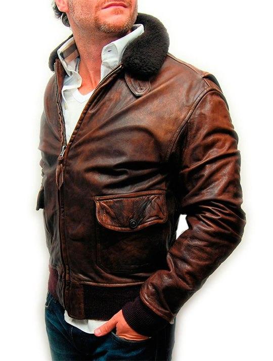 Как сделать мужскую кожаную куртку в 370