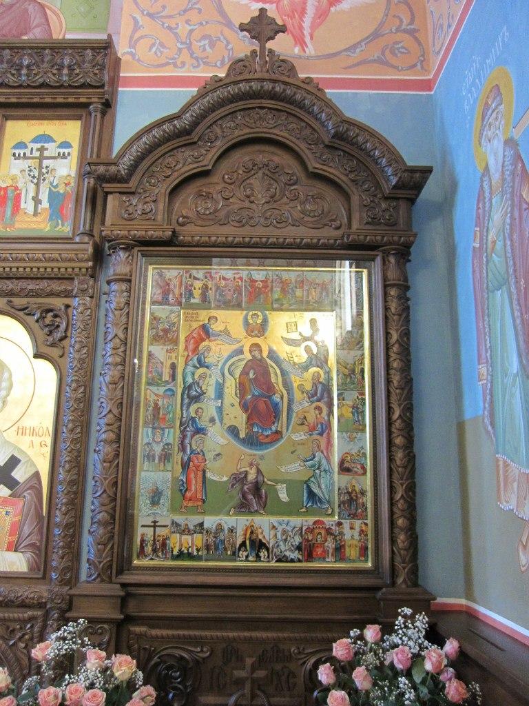 Главная храмовая икона - Похвала Пресвятой Богородицы (03.07.2014)