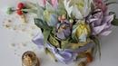 Букет из конфет и чая своими руками / DIY Crepe paper bouquet