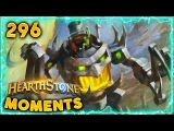 Lottery Winning Unluckiest RNG!! | Hearthstone Daily Moments Ep. 296 (Funny and Lucky Moments)