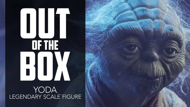 Unboxing Yoda Legendary Scale Figure - Sideshow Collectibles