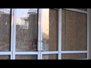 Площадь Независимости после разгона Майдана в Сумах. 27.01.2014