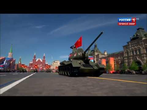 Xe tăng, tên lửa Nga phô diễn sức mạnh trên Quảng trường Đỏ