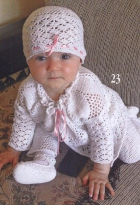 Вязание для малышей до года (3 фото) - картинка