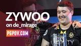 POV ZywOo (Vitality) vs x6tence Galaxy 34-13 de_mirage Player Settings in desc.