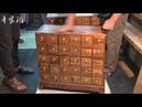 共八集(8)【手工木工教学】看看传统要钱柜(发财柜)是怎样用手工2057