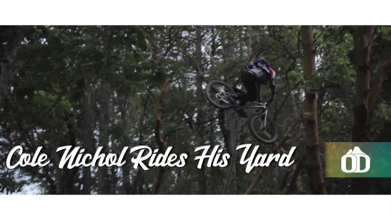 Cole Nichol Rides His Yard