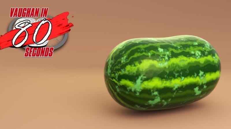 MODO | Shader Tree Watermelon Texture