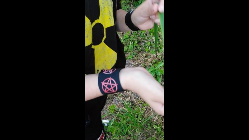 как резать руки ТРАВИНКОЙ