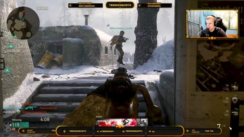 [DooM TBNRKenWorth] Kar98 Iron Sight QUAD VICIOUS MEDAL! (Call of Duty: WW2)