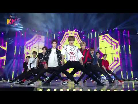 NCT 127 (엔시티 127) - TOUCH (터치) Cherry Bomb (체리밤) @ 2018 Korea Music Festival 20180802