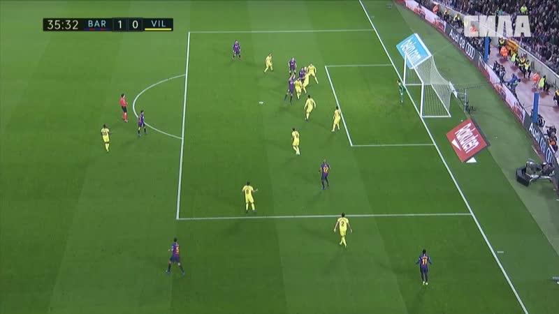 14. Барселона 2-0 Вильярреал. 14 тур. Ла Лига 2018-19. 02.12.2018