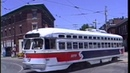 Philadelphia - Route 15 Trolley with original PCC Cars - 1990-91