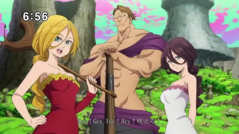 [60 FPS HD]Seven Deadly Sins Season 2 OP/Opening Nanatsu no Taizai Imashime no Fukkatsu OP/Opening