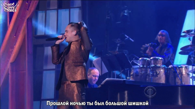 Brendon Urie (from Panic! at the Disco) - Big Shot - Kennedy Center Honors Billy Joel (рус. саб)