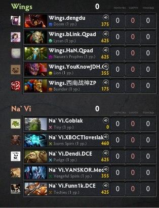 Пик Na'Vi vs WG