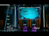 Siva Kaneswaran and Ariel Winter handed the award for Breakthrough Actor on Young Hollywood Awards