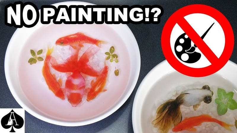 How to Use 3D Fish in Resin Stickers - No Painting Skills Required!