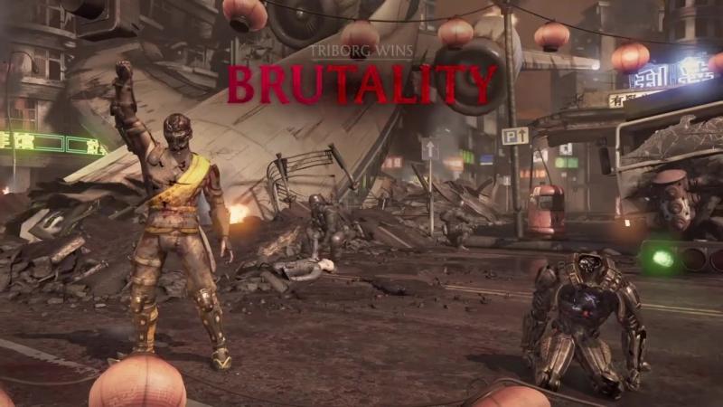Mortal Kombat XL_Triborg Smoke awesome Xray Brutality.mp4