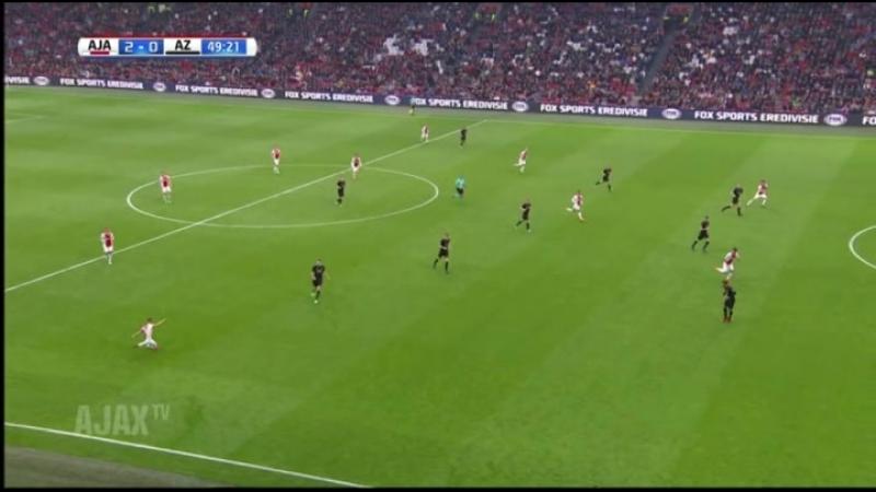 Ajax AZ Kluivert 29 04 18