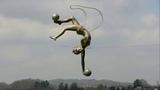 Скульптор Джерзи Кедзиора (Jerzy Kedziora). Польша. Парящие в воздухе.