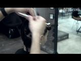 женская стрижка от длинных волос к бобу