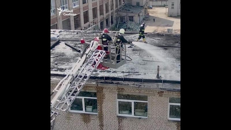 Вялікі пажар у Менску