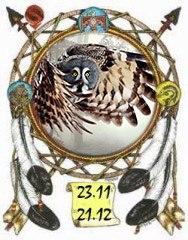 Индейский гороскоп - Сова с 23 ноября по 21 декабря