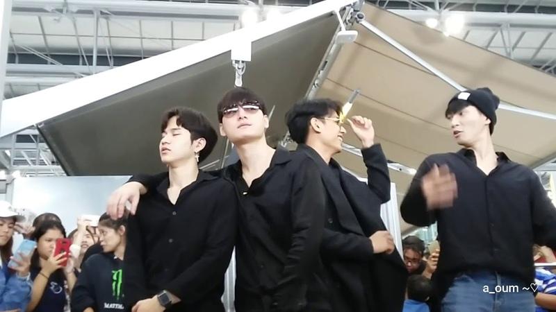 นักแสดง Sotus S | Krist at BKK Airport go to Tianjin | 20180330