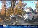 В Ростове на Таганрогской произошло массовое ДТП есть пострадавшие