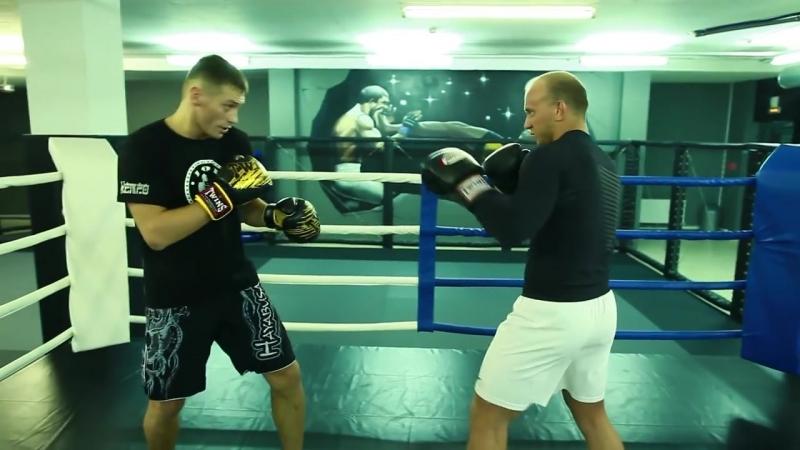 Бой на средней дистанции тренировка и упражнения Школа бокса для новичков Руслана Акумова