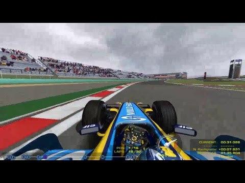 F1 2006 online. 16 этап - Гран-при Китая