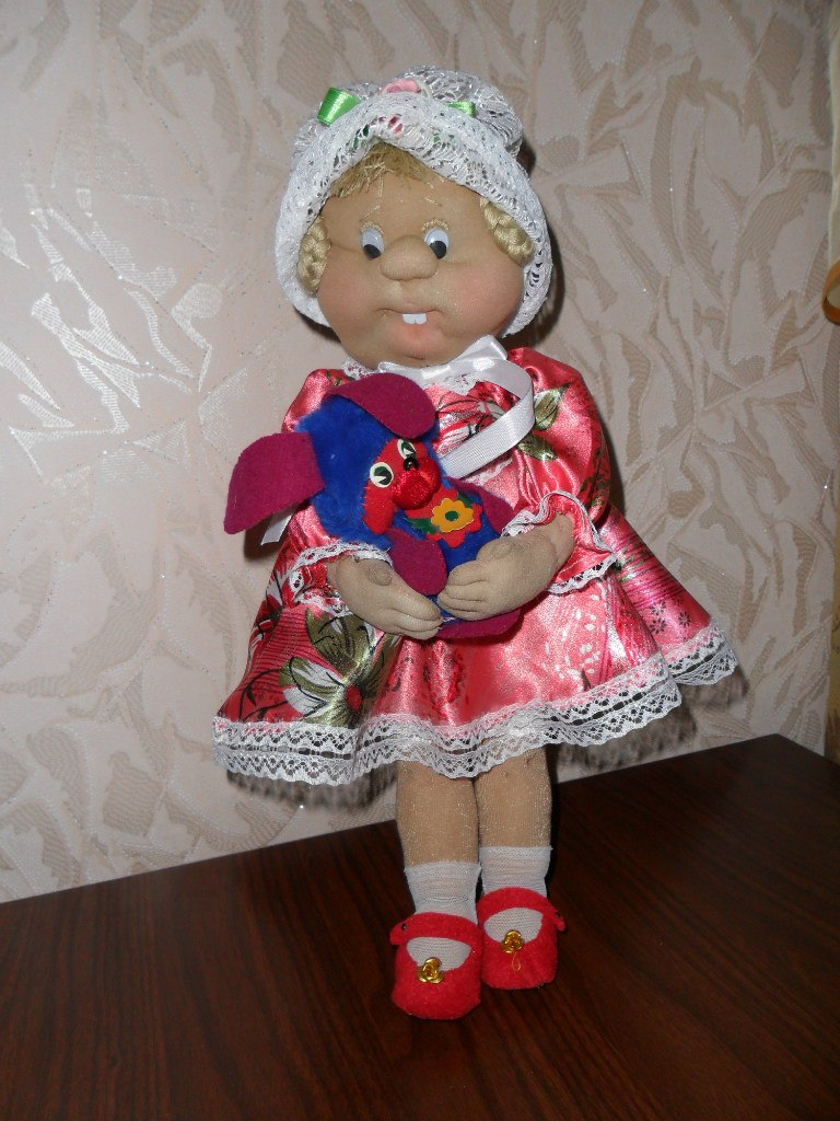 Сделать куклу из колготок мастер класс