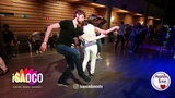 Anton Shmakov and Anna Zvyagina Salsa Dancing in Mambolove, Saturday 09.06.2018