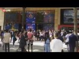 Фанаты ПСЖ выстроились в гигантскую очередь за футболками Неймара