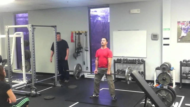 Sumo Dead Lift practice with Marty Gallagher