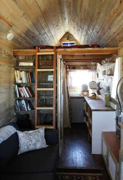 Дачный домик со всем необходимым для жизни #DIY_Идеи