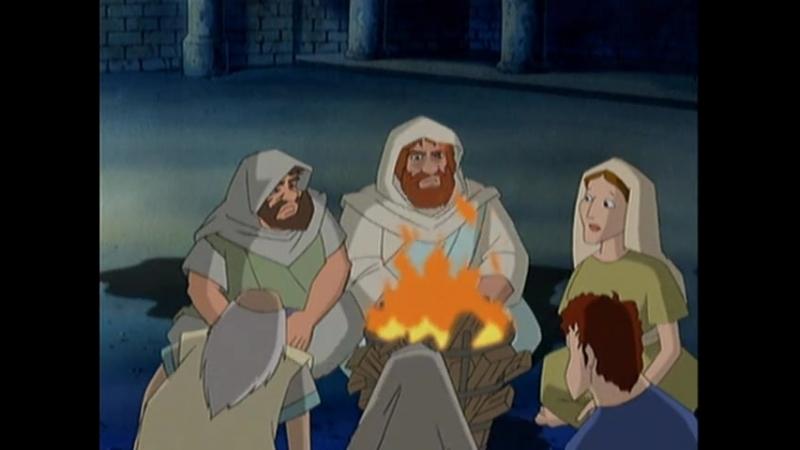 Великие Библейские истории-Тайная вечеря, распятие и воскрешение