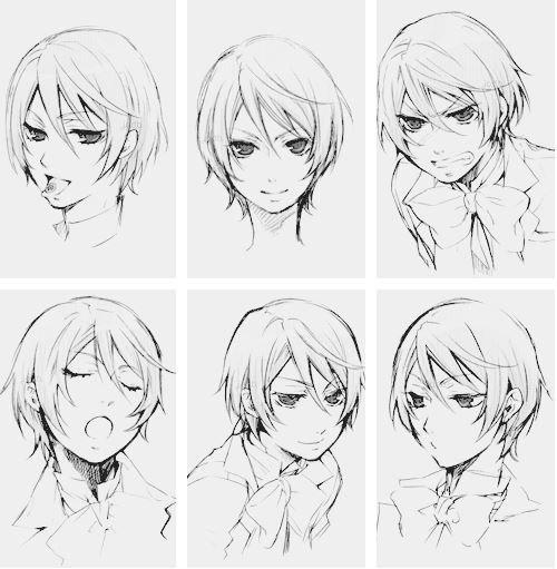 картинки аниме эмоции: