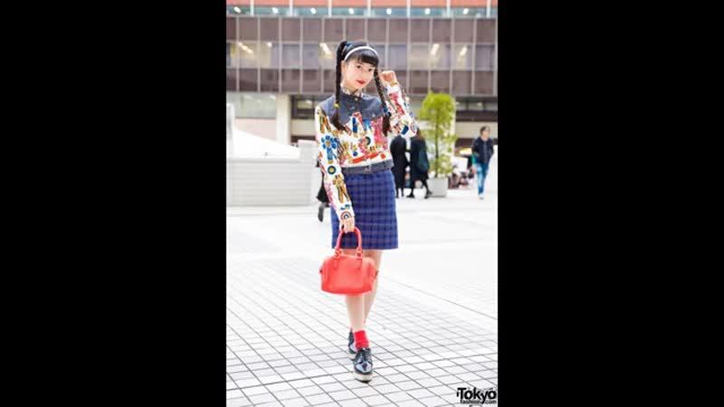 Чем уличная мода 2019 Японии впечатляет
