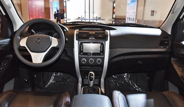 Пикап Foton Tunland превратили в электрический фургон Фото: autohome.com.cnПока американские компании Rivian и Atlis пытаются перещеголять друг друга в создании самого футуристичного
