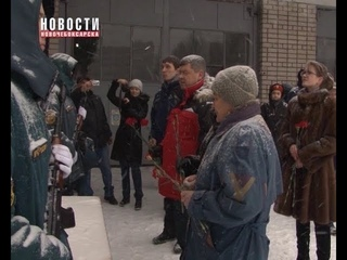 В Новочебоксарске установили мемориальную доску мастеру пожарно-прикладного спорта СССР Сергею Хилкову