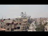 SYRIATHE SY.A.AF &amp RU.A.F PUMMEL ISIS STRONGHOLD IN YARMOUK REFUGEE CAMP SOUTH OF THE CAPITAL. Опубликовано 24 апр. 2018 г.
