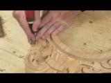 Как сделать резные часы 3 часть, резьба по дереву